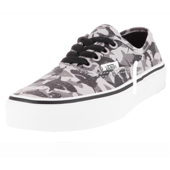 f4a56825be Vans Authentic Reef Sharks Drizzle True White Shoe